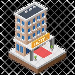Hotel Architecture Icon