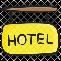 Hotel Banner Icon