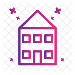 House Icon Of Gradient Style Available In Svg Png Eps Ai Icon Fonts