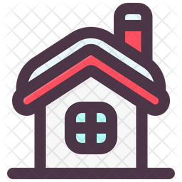 House Icon Of Colored Outline Style Available In Svg Png Eps Ai Icon Fonts