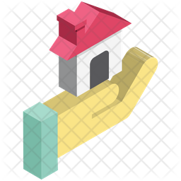 House Hands Icon