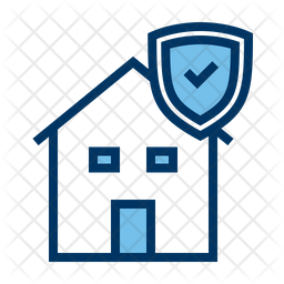 House Insurance Icon Of Colored Outline Style Available In Svg Png Eps Ai Icon Fonts