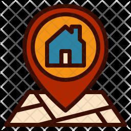 House Location Icon