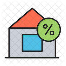 House on discount Icon