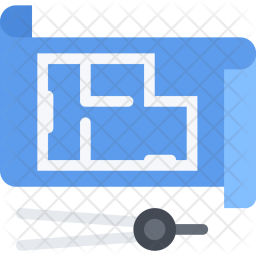 House, Plan, Builder, Building, Construction, Repair Icon
