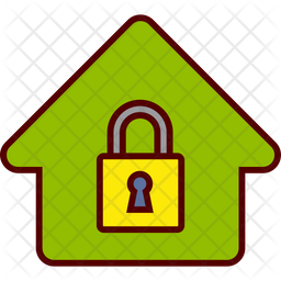House Secure Icon