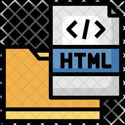 Html Folder Icon
