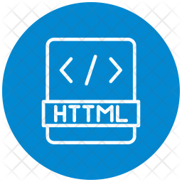 Html, Program-application, Programming, Development Icon