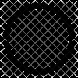 Hula Hoop Glyph Icon