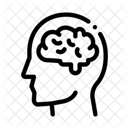 Human Brain Icon Of Line Style Available In Svg Png Eps Ai Icon Fonts