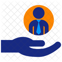 Human Resources Flat Icon