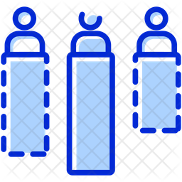 Human Resources Colored Outline Icon