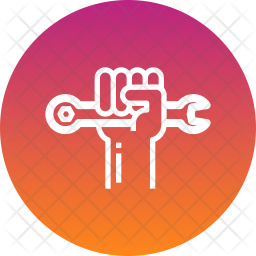 Human Rights Line Icon