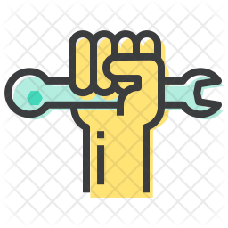 Human Rights Colored Outline Icon