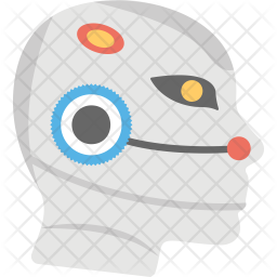 Premium Humanoid Robot Face Icon Download In Svg Png Eps Ai Ico