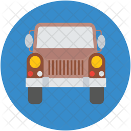 Hunting car Icon