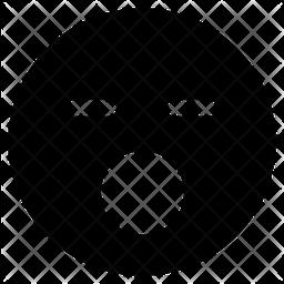 Hushed Face Emoji Icon