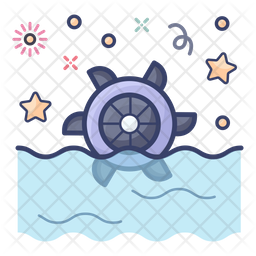 Hydraulic Energy Icon