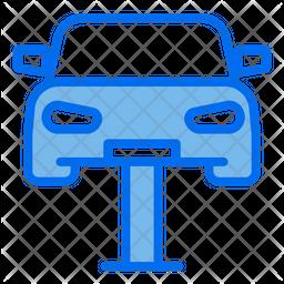 Hydraulic Ramp Icon