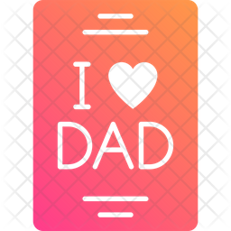 I Love Dad Icon