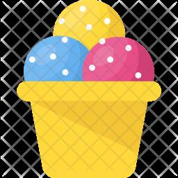 Ice-Cream Flat Icon