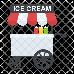 Ice-cream Cart Icon