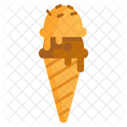 Ice Cream Cone Icon Of Flat Style Available In Svg Png Eps Ai Icon Fonts