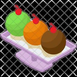 Ice Cream Platter Icon