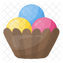 Ice-cream Scoops Icon