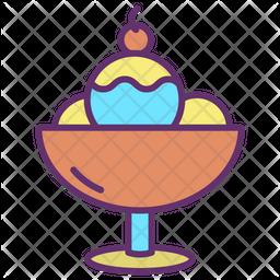 Ice Cream Scoops Icon