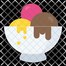 Ice-cream Scoops Icon
