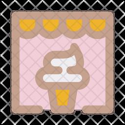 Ice cream store Icon