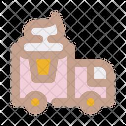 Ice cream truck Icon