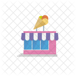 Ice cream parlour Icon