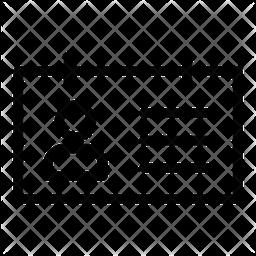 Id Line Icon