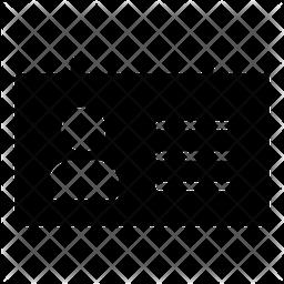 Id Glyph Icon