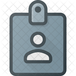 Id Colored Outline Icon