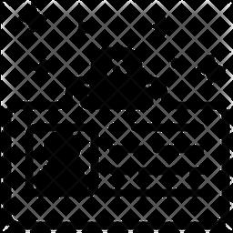 Id Card Glyph Icon