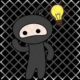 Idea Sticker Icon