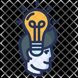 Idea Colored Outline Icon