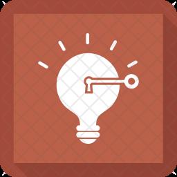 Idea Glyph Icon