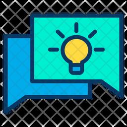 Idea Chatting Icon