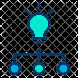 Idea Flow Icon
