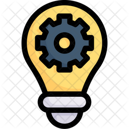 Idea Management Colored Outline Icon
