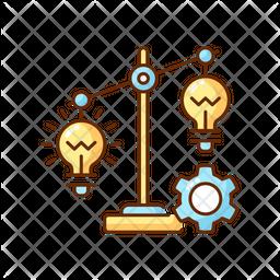 Idea prioritization Icon