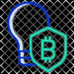 Idea Security Shield Icon