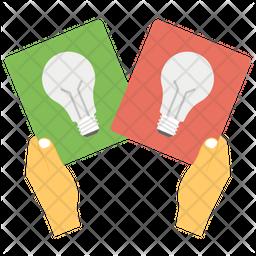Idea Sharing Flat Icon