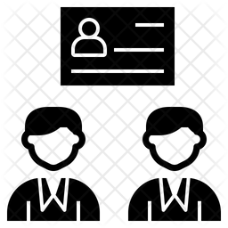 Identification Glyph Icon