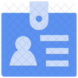 Identity card Dualtone Icon