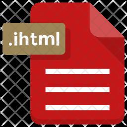 Ihtml file Icon